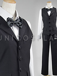 Durarara Cos Shizuo Heiwajima Cosplay Costume Bartender Suit Full Set