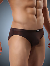 Men's Polyester / Ice Silk Briefs Underwear