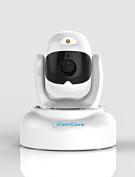 2.0 MP Indoor with IR-cut 32(Day Night Motion Detection Dual Stream Remote Access IR-cut Wi-Fi Protected Setup Plug and play)
