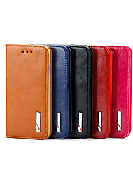 2015 fashion smoothy véritable couverture en cuir pour iPhone 4 / 4S