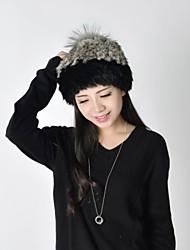 Winter Women Cute Warm Fur Hat LD00124