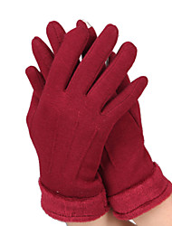 AT8805 Warm Female Touch Screen Gloves Non Inverted Velvet