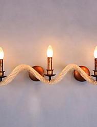 LED Lampade a candela da parete,Moderno/contemporaneo E12/E14 Metallo