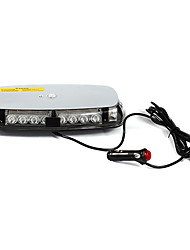 Vehicle Roof Top Yellow 24 LED Emergency Warning Strobe Light Lamp Magnetic Base