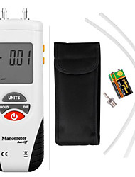 Digital Manometer Air Pressure Meter Gauge Kit + Case
