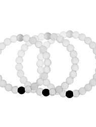 pulsera de silicona, blanco