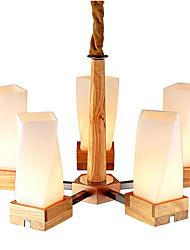 40W Lustres ,  Tradicional/Clássico / Rústico/Campestre / Vintage / Retro / Rústico Outros Característica for Estilo Mini Madeira/Bambu