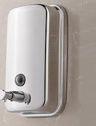 Дозатор для мыла Нержавеющая сталь Крепление на стену 150X100X60mm(5.9x3.9x2.4'') Нержавеющая сталь / Марочный ABS металл Современный