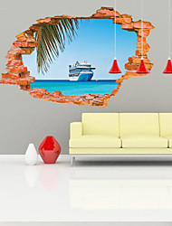 3D Sticker Wall Steamer Stickers for Dining Room Kid Room Decorations Wall Decals Wall Art Decor
