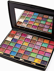 48 Colors Lidschattenpalette Schimmer Lidschatten-Palette Puder Set Party Make-up