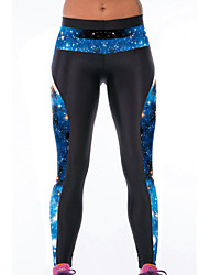 Women's Galaxy Printed Tight Sport Leggings