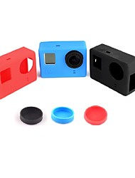 Gopro Accessories Protective Case / Lens Cap / Gopro Case/Bags / BackdoorsFor-Action Camera,Gopro Hero 2 / Gopro Hero 4 Silicone