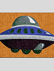 Oil Paintings Modern Flying Saucer Style , Canvas Material with Stretched Frame Ready To Hang SIZE:60*90CM.