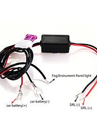 auto carchet condotto luce corrente di giorno DRL auto on off dc12v controllore