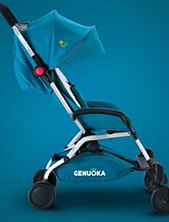 genuokaka babystroller lumière portable haut de visites plié sit ou dormir résistant aux chocs poussette
