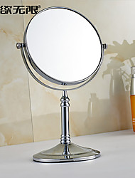 Mirror Chrome Free Standing 20cm(8inch) Brass Contemporary
