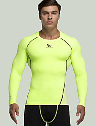 Men's Compression Clothing Fitness / Leisure Sports / Running Breathable/ Lightweight Materials