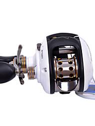 Haibo 9 Bearing Baitcast Fishing Reel Gear Ratio 6.5:1  Alu Body Fresh Water