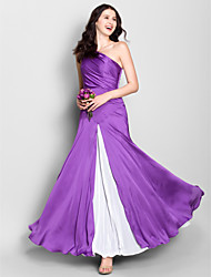 Short/Mini Jersey Bridesmaid Dress - Ivory Sheath/Column Cowl