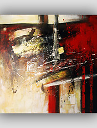 Hand-Painted Abstract / Famous / Still Life / Fantasy / Leisure Style / Modern / Realism Oil Painting , Canvas One Panel