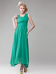 Women's Colorful V-Neck Slim Cut Maxi Dress