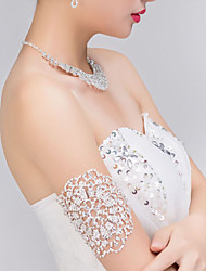 Bridal 's Rhinestone Crystal Wedding Arm Armlet Bracelet 1 Piece
