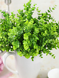 Green Plants Grass Plastic Plants Artificial Flowers