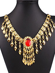 Women's Pendant Necklaces 18K gold Alloy Drop Fashion Gold Jewelry Special Occasion Birthday Gift