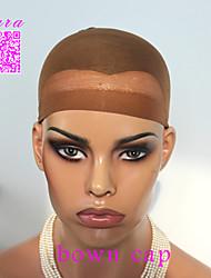 50pcs unisexes bouchons perruque élastiques pour la fabrication de perruques cheveux sans colle de maille stretch perruque nette tête de