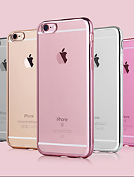 Electroplating Luxury TPU Soft Case for iPhone 6s 6 Plus
