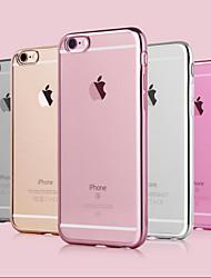 гальванических роскоши ТПУ мягкий чехол для iphone 6 плюс / 6с плюс (ассорти цветов)