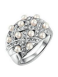 Fazinierendes Perle Künstliche Perle Modisch Silber Golden Schmuck Hochzeit Party Alltag Normal Sport 1 Stück
