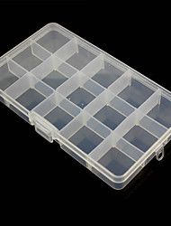 15-Compartment Free Combination Plastic Storage Box for Hardware Tools