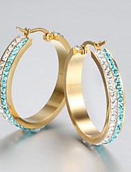 Moda Estilo bonito Jóias de Luxo imitação de diamante Cor Ecrã Jóias Para Festa
