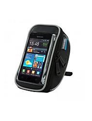 ROSWHEEL Bolsa para Bicicleta 1.2LLBolso del teléfono celular Bolsa para ManillarImpermeable Listo para vestir Pantalla táctil