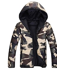 Men' Fashional Insulation Thick  Cotton Padded Camouflage Jacket