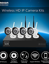 Szsinocam®Mini 4CH 720P 1.0MP WIFI NVR Kits,No Need To Set, You Can  The Image,Support Mobile phone P2P.