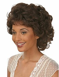Superior In Quality And Reasonbale In Price Synthetic Brown Color Hair Wigs