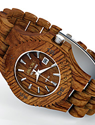 Handmade Wood Watch, Men Japan Quartz Watch,Gift Idea,Fashion Accessory - BROWN Wrist Watch Cool Watch Unique Watch
