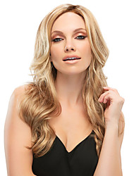Women lady Long Curly Wigs Blonde Color Synthetic Hair Wigs