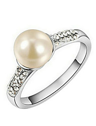 Imitation Pearl Ring Fascinators Wedding / Party / Daily / Casual / Sports 1pc