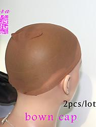 10pcs unisexes bouchons perruque élastiques pour la fabrication de perruques cheveux sans colle de maille stretch perruque nette tête de