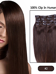 "22"" inch Clip in Futura Hair Extensions-Eight Piece Full Head set-100grams of hair per pack"