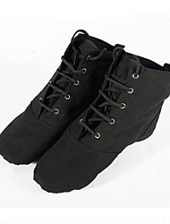 Non Customizable Women's / Kids' Dance Shoes Canvas / Paillette Canvas / Paillette Jazz / Ballroom Sneakers Flat HeelPractice /