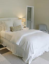 300 hilos Juego de sábanas de cama de algodón suave recuento de lujo