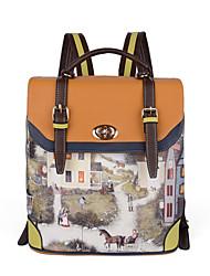 KAILIGULA   Classic graphics Backpack Schoolbag