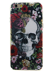 Skull head High Quality and Good Price Pattern  Hard Case for iPhone 6/6S