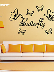 AWOO® New Design Pattern Butterfly Wall Stickers Home Decor Vinyl  Stickers For Kids Room Decoration