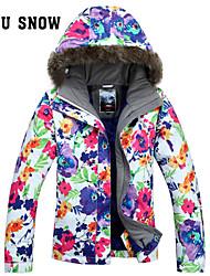Femme Anorak pour Ski/snowboard / Veste pour Femme / Veste d'Hiver / Hauts/TopsSki / Camping / Randonnée / Sports de neige / Ski alpin /