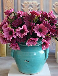 Seda Margaridas Flores artificiais